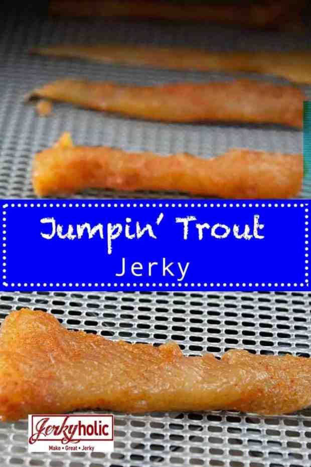 Make this fantastic trout jerky with any kind of fresh or salt water trout you can get your hands on. It has a little kick and a lot of fish flavor! | Jerkyholic.com