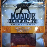 Review:  Jack Link Sizzling Sweet Matador Beef Jerky (B)
