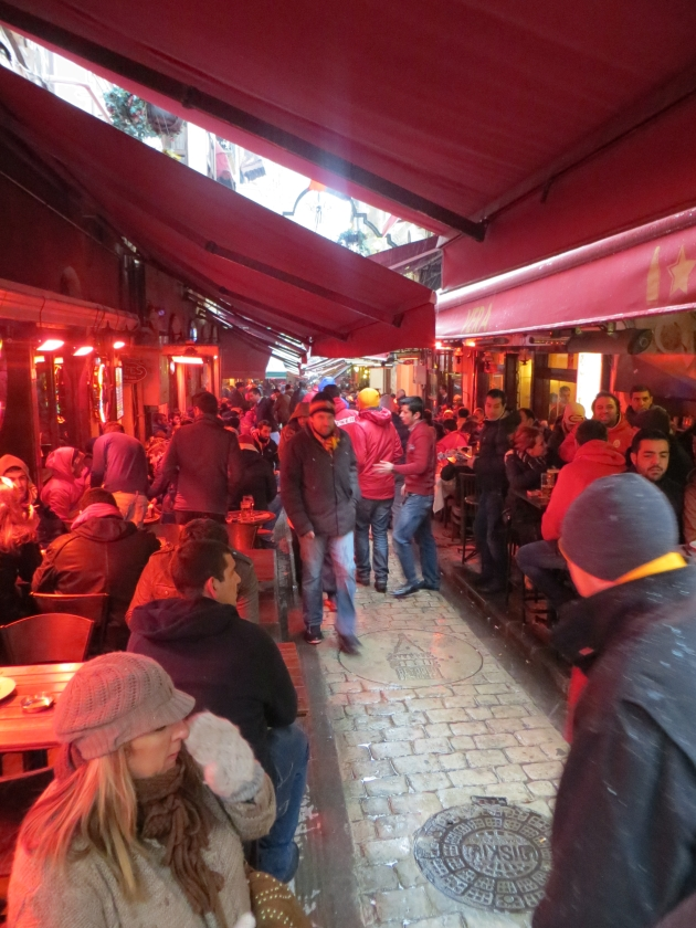Galatasaray straatje