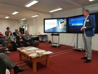 De veldbezoek aan de Digital Society Hub in Groningen