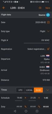 Vlucht details