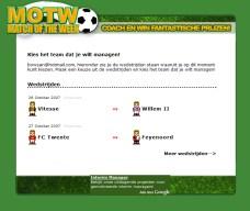 MotW: Team kiezen