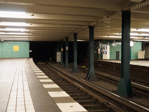 Berlin, 2016   Wittenbergplatz subway