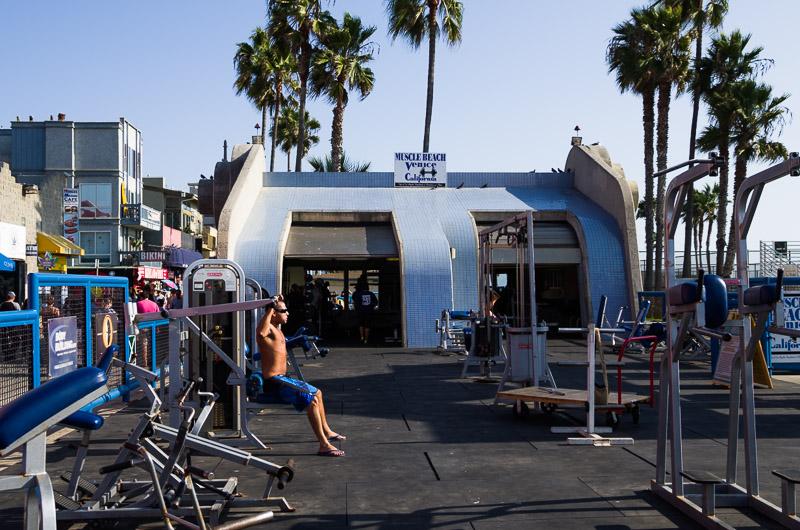 Venice Beach, 2013 | Muscle Beach