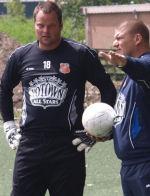 Jeroen Verhoeven eerste training FC Volendam 2009 klein