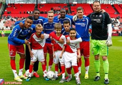 Onvergetelijke middag voor WKZ patiënten bij FC Utrecht