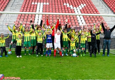 Hart van Utrecht Week: Clinic voor G-elftal v.v. Brederodes
