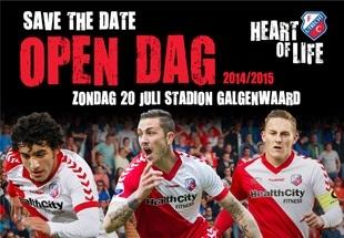OPen dag FC Utrecht jeroen verhoeven