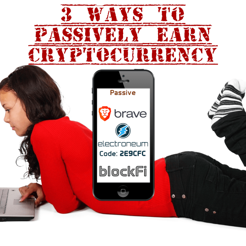 3 Ways To Passively Earn Cryptocurrency