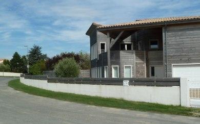 Maison en bois massif Meschers-sur-Gironde extérieur