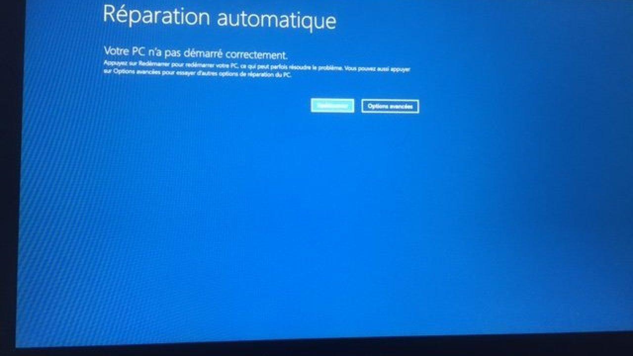 Bug Windows 10 Reparation Automatique Jerome Guyonnet