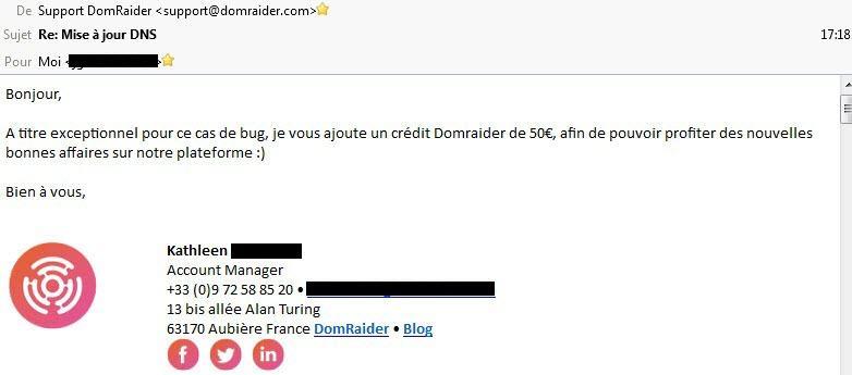 générosité Domraider