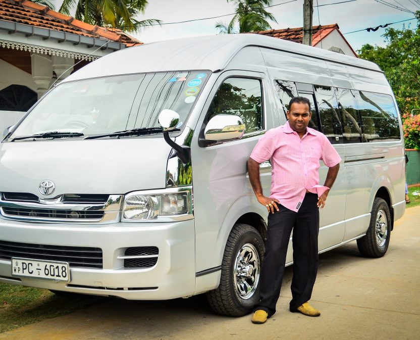 Jeromwin Tours Private Vehicle Van Car with Driver Roshan