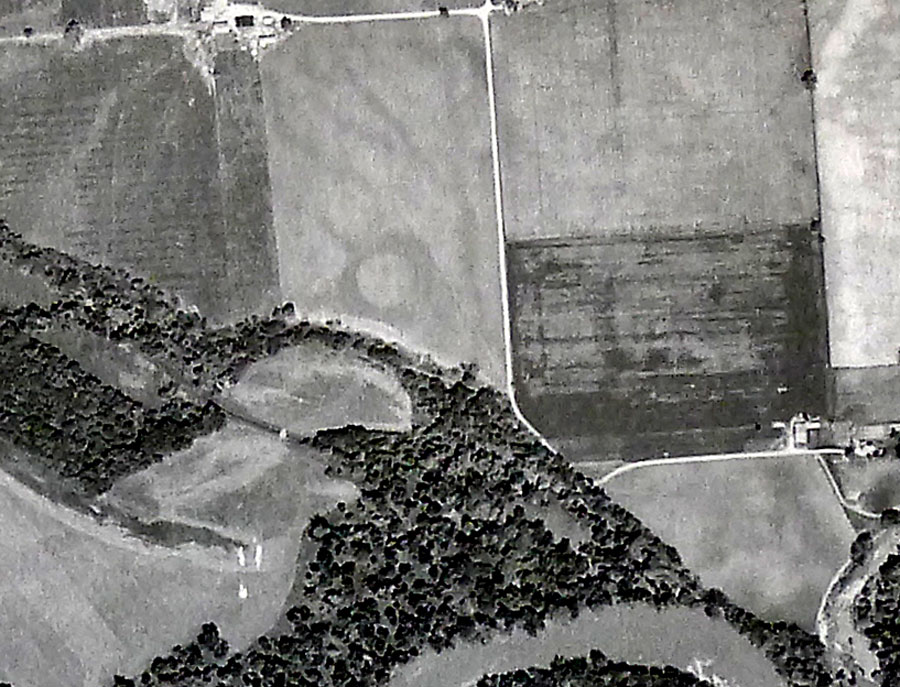 The Scippo-Scioto Earthwork complex 1951