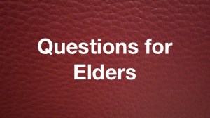 Questions for Elders RL