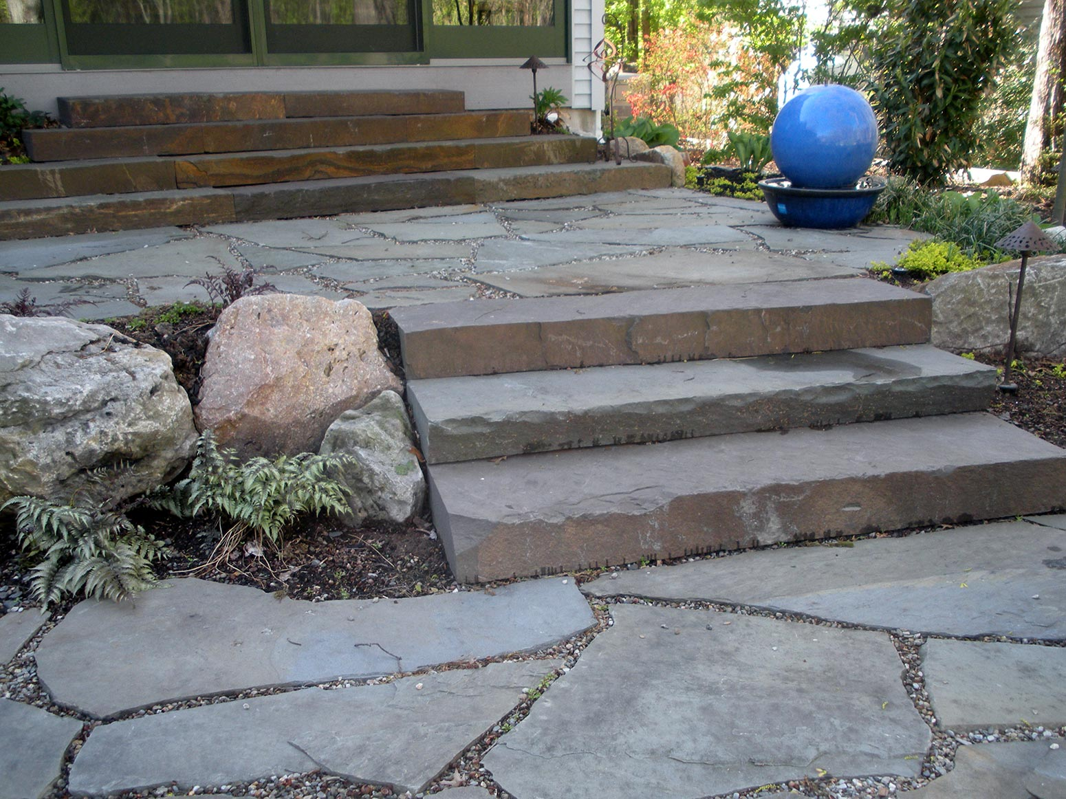 Natural Stone, EP Henry Paver Walkways, Brick Patio ... on Rock Patio Designs  id=42343