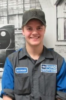 Brenden Butts - Automotive Technician