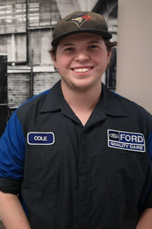 Cole Boarer - Automotive Technician