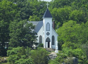 St. Brendon's Church on the St Lawrence
