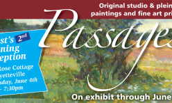 Passages – Exhibit at the Rose Cottage in Fayetteville