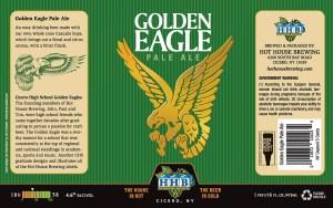 Golden Eagle IPA Beer Label