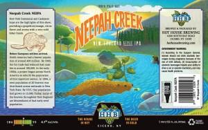 Neepah Creek Beer Label