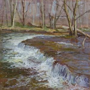 Runoff - Oil Painting