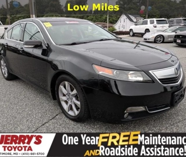 2013 Acura Tl Base In Baltimore Md Jerrys Toyota