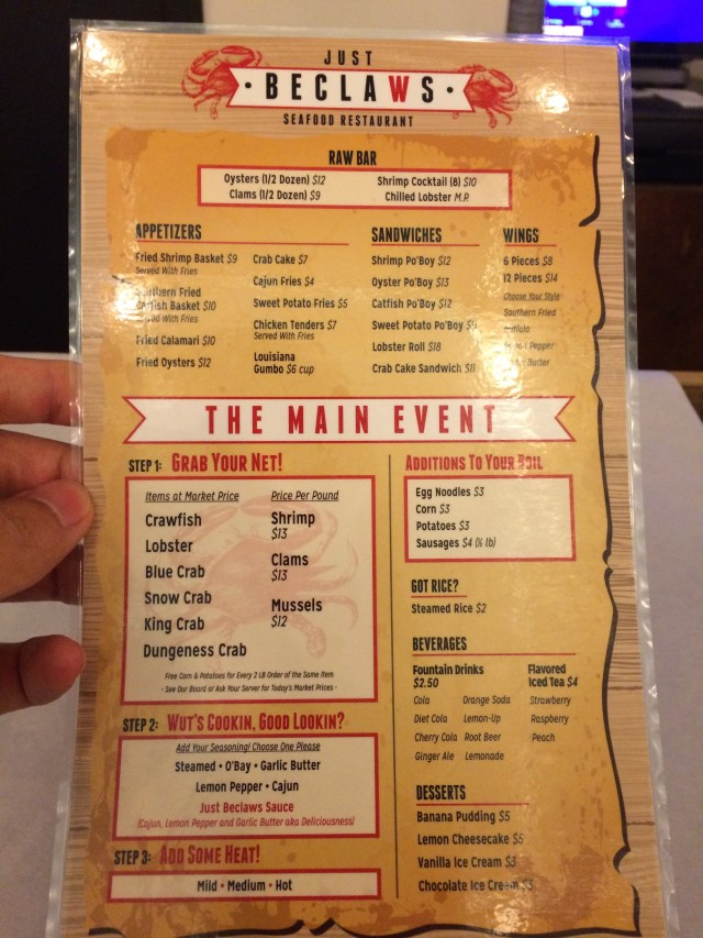 Jc Food Spot Menu