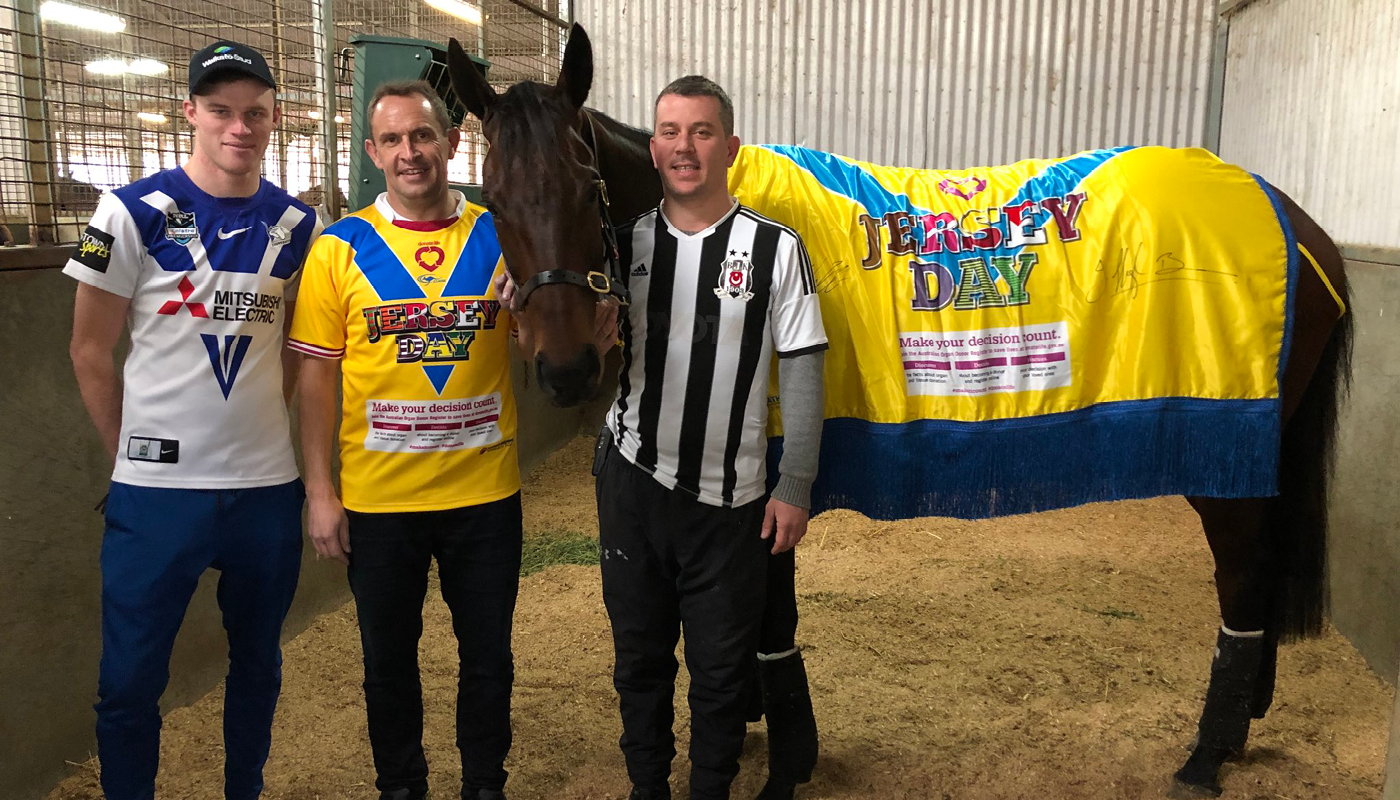 JERSEY DAY and WINX, Chris Waller, Damien Fitton and Leo Lee