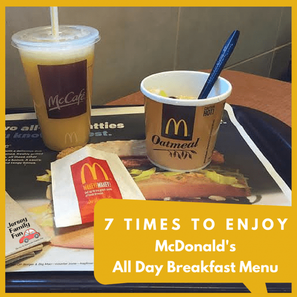 7 Times to Enjoy McDonald's All Day Breakfast Menu ...