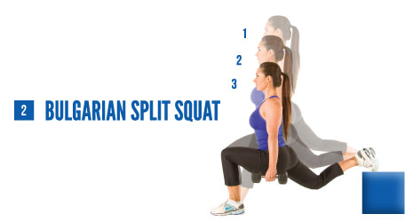 The Bulgarian Split Squat – Great Butt Exercise to Add Into Leg ...