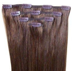 O 24inch 8 100g Indian Remy Clip On In An Example Of Human Hair Extensions