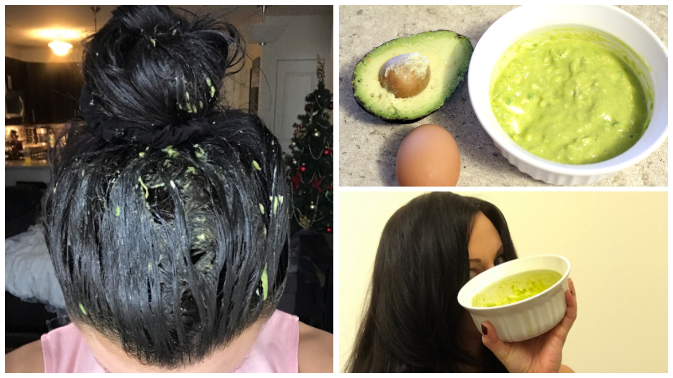 Avocado Egg Yolk And Olive Oil Hair Mask Recipe Jersey Girl Talk