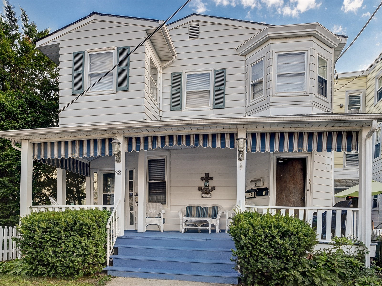 38 Pitman Ave. Ocean Grove Just Listed! 4 family home with Ocean Views!