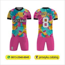 baju volly custom