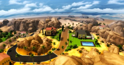 The Lodge is located in the affluent neighborhood of Oasis Springs.