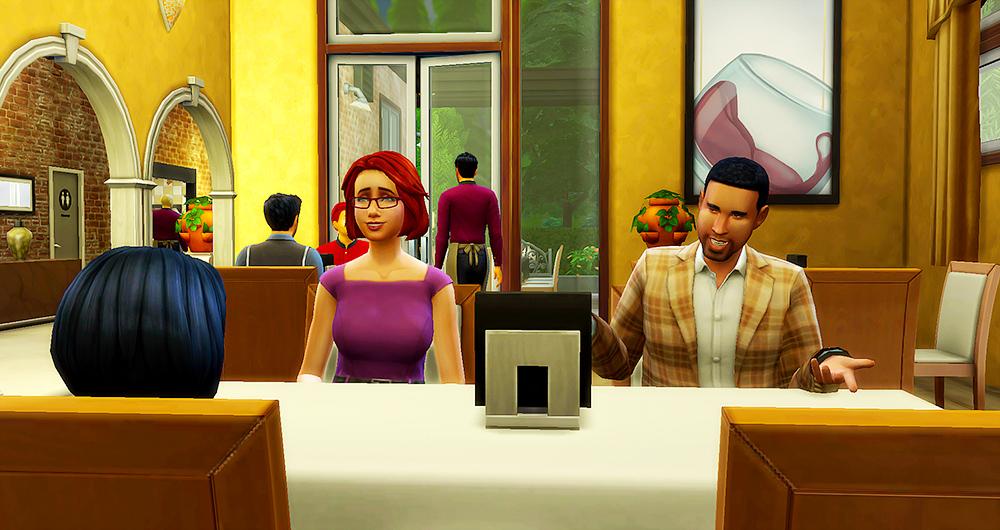Sims  Restaurant Won T Serve Food