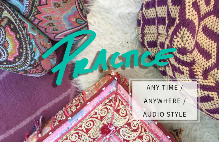 Yoga Audio Classes - practice any time, anywhere