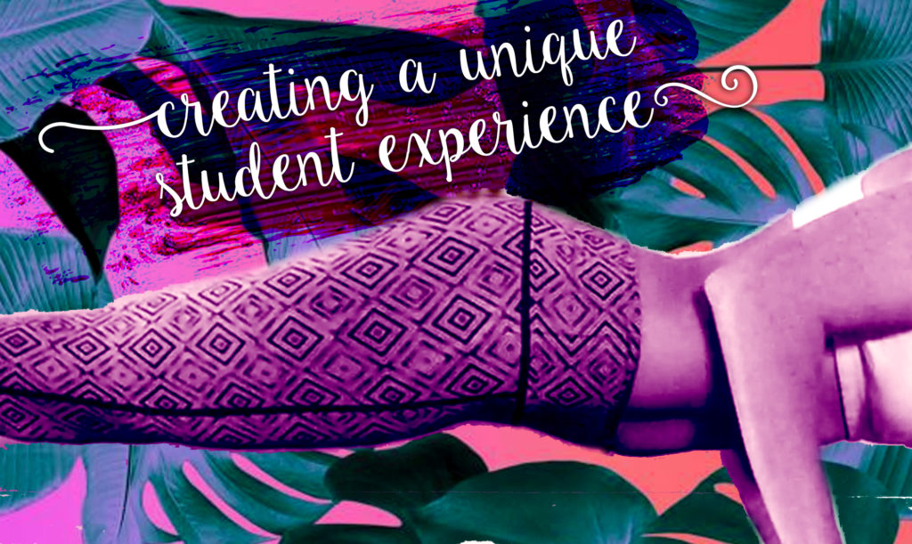 Workshop for yoga teachers, creating a student experience