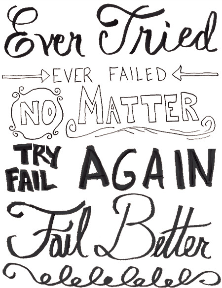 Final Hand Lettering