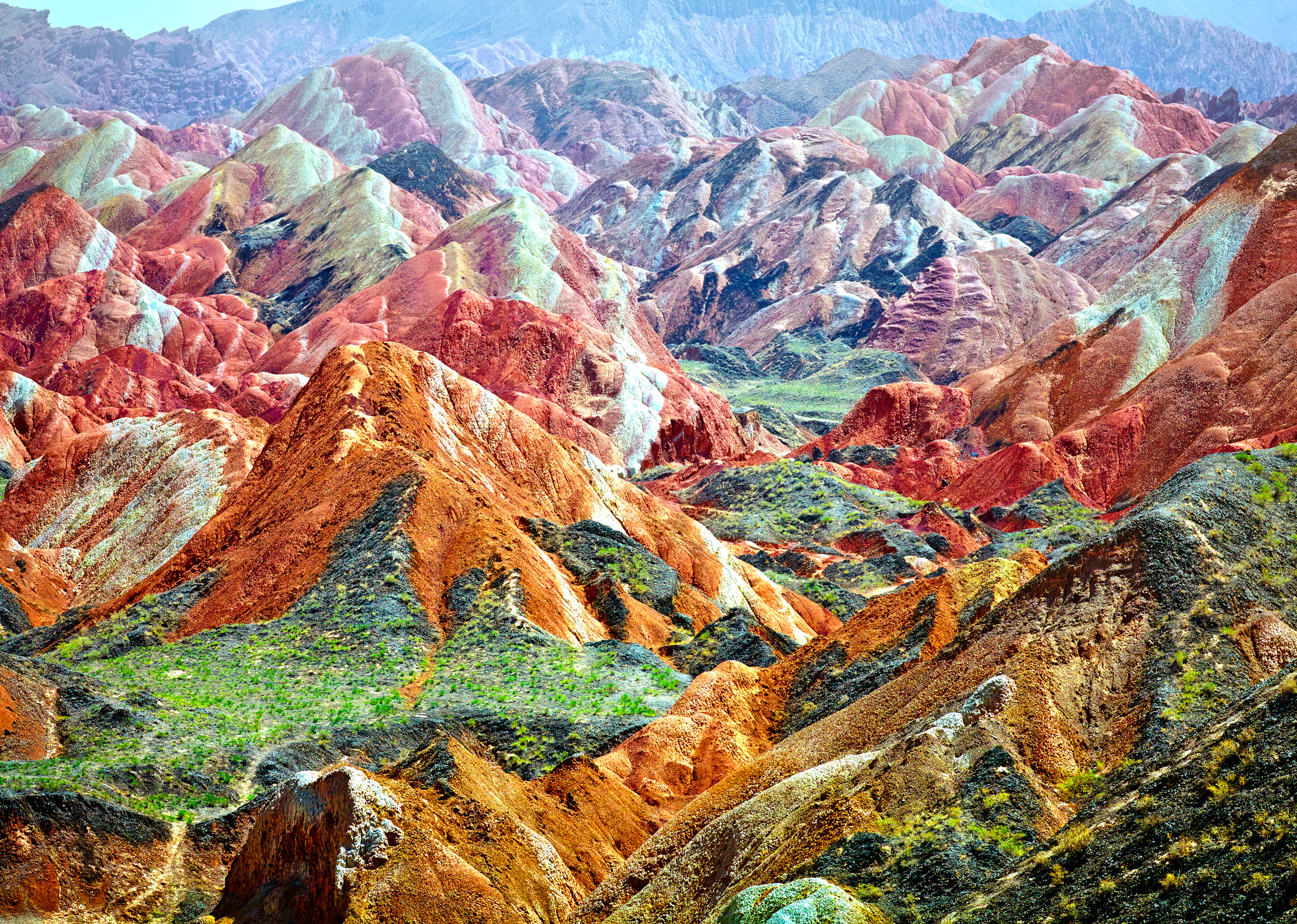 Rainbow Mountains China S 248 Ndergaard Photography