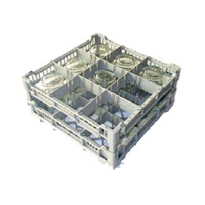 eurodib cc00121 dishwasher glass rack 5 3 4 h x 16 w x 16 d holds up to 9 glasses