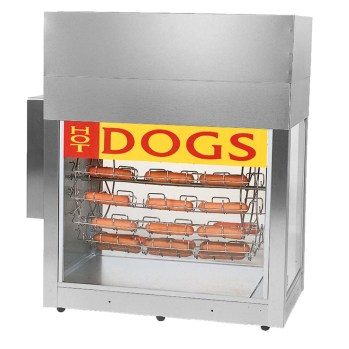 Image result for hot dog rotisserie