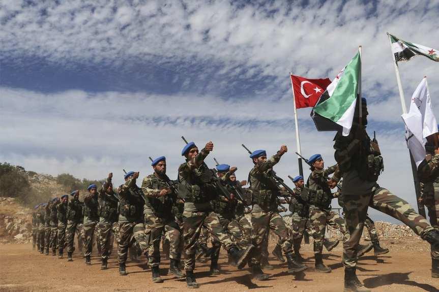 """الوطني - مقاتلون سوريون إلى أذربيجان..معكسر تدريبي في """"الباب"""" و أولى رحلات المقاتلين يوم الجمعة 25 أيلول"""