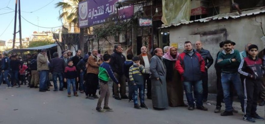 """السوري - بخزينة خاوية.. حكومة النظام تطلق الوعود بتحسين الواقع ورفاهية """"المواطن"""""""