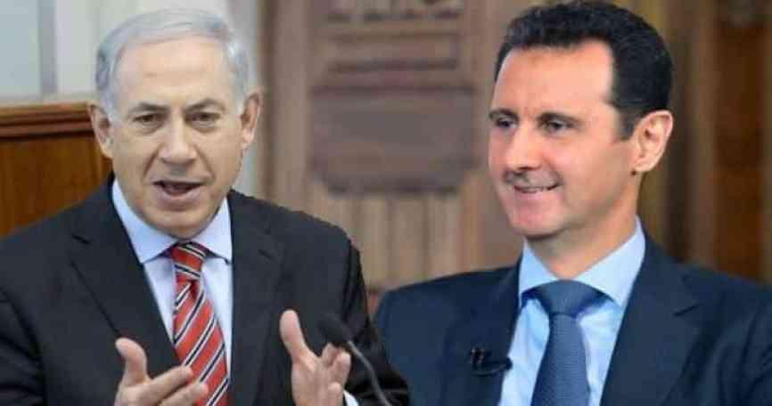 ونتنياهو - نظام الأسد يدعو لاستعادة الجولان المحتل ..ويذكر موقفه من التطبيع