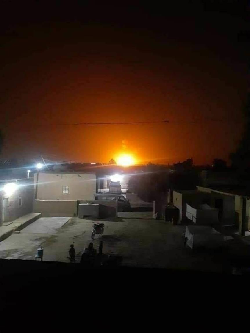 السباع - عبوة ناسفة تستهدف خط الغاز الواصل إلى الحقول النفطية شرق دير الزور (صورة)