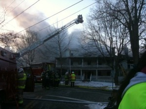 Egremont Inn Fire