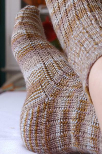Charade Socks Up Close